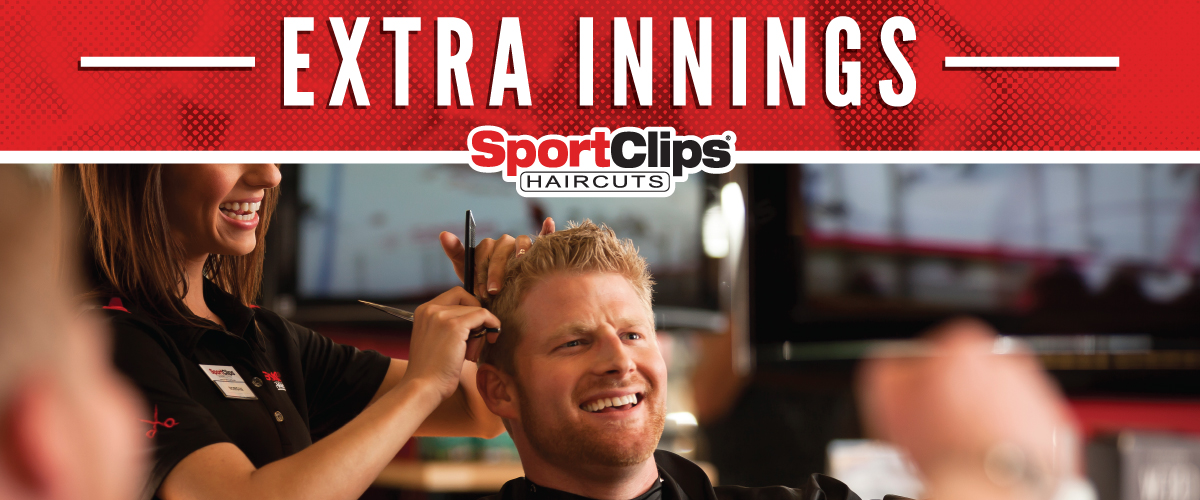 The Sport Clips Haircuts of Minot Extra Innings Offerings