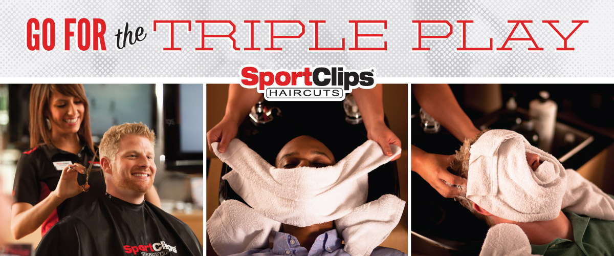 The Sport Clips Haircuts of Minot Triple Play