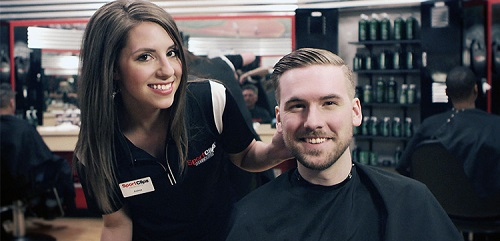 Sport Clips Haircuts of Minot​ stylist hair cut